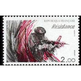 France Yvert Num 2312 ** Resistance  1984