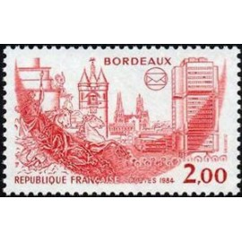 France Yvert Num 2316 ** Bordeaux  1984