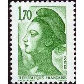 France Yvert Num 2318 ** Liberté 1f70 1984