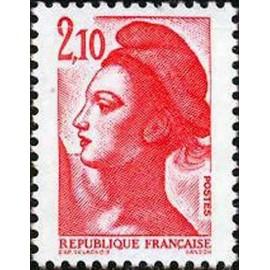 France Yvert Num 2319 ** Liberté 2f10 1984