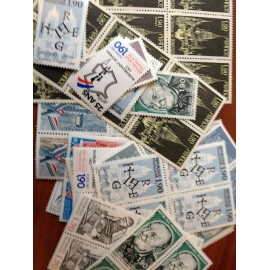 Sous Faciale100 timbres à 1,90francssoit 28,97 euro