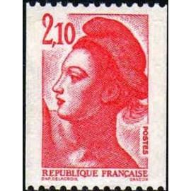 France Yvert Num 2322 ** Roulette 2f10 1984