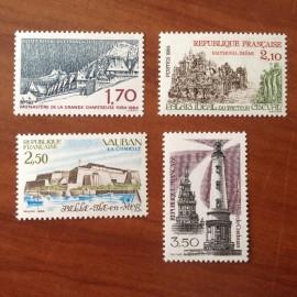 France Yvert Num 2323-2326 **   1984