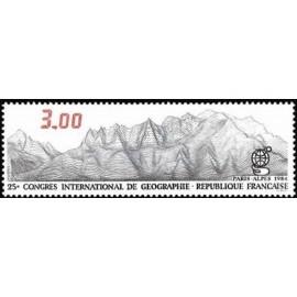 France Yvert Num 2327 ** Geographie  1984