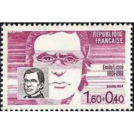 France Yvert Num 2328 ** Emile Littré  1984