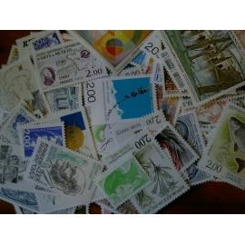 Sous Faciale100 timbres à 2,00francssoit 30,49 euro