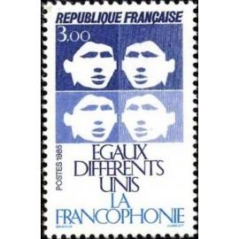 France Yvert Num 2347 ** Francophonie  1985
