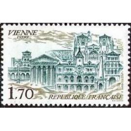 France Yvert Num 2348 ** Vienne 38  1985