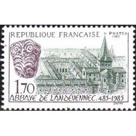 France Yvert Num 2349 ** Landévennec  1985