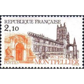 France Yvert Num 2350 ** Montpellier  1985