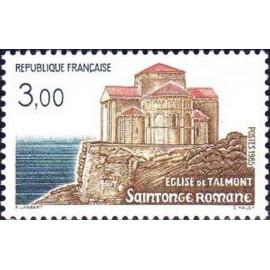 France Yvert Num 2352 ** Saintonge Romane  1985
