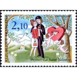 France Yvert Num 2354 ** Peynet Cœur  1985