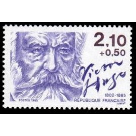 France Yvert Num 2358 ** Victor Hugo  1985