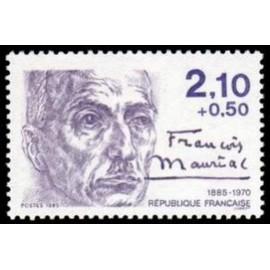 France Yvert Num 2360 ** Fr Mauriac  1985