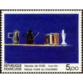 France Yvert Num 2364 ** tableau De Stael  1985