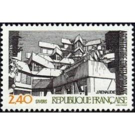 France Yvert Num 2365 ** Vue de Givors  1985