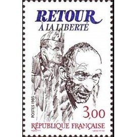 France Yvert Num 2369 ** Victoire  1985