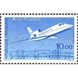 France Yvert Num 2372 ** Mystere Falcon 900  1985