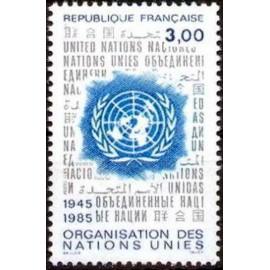 France Yvert Num 2374 ** ONU  1985