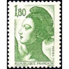 France Yvert Num 2375 ** Liberté 1f80 1985