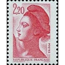 France Yvert Num 2376 ** Liberté 2f20 1985