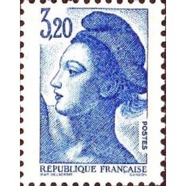 France Yvert Num 2377 ** Liberté 3f20 1985