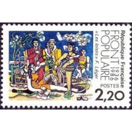 France Yvert Num 2394 ** Fernand Leger  1986