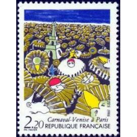 France Yvert Num 2395 ** Carnaval Venise  1986