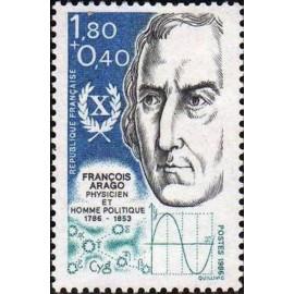 France Yvert Num 2396 ** François Arago  1986