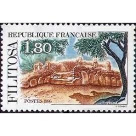 France Yvert Num 2401 ** Corse  1986