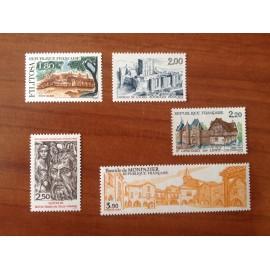 France Yvert Num 2401-2405 **   1986