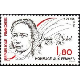 France Yvert Num 2408 ** Louise Michel   1986