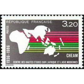France Yvert Num 2412 ** carte  1986