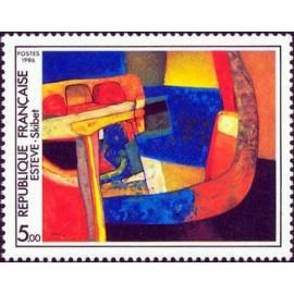 France Yvert Num 2413 ** tableau  Esteve  1986