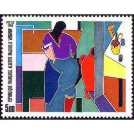 France Yvert Num 2414 ** tableau  1986