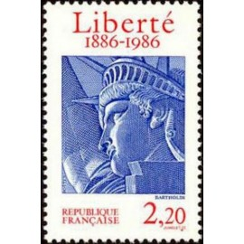 France Yvert Num 2421 ** Statue Liberté  1986