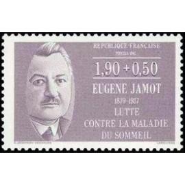 France Yvert Num 2455 ** Eugene Jamot  1987