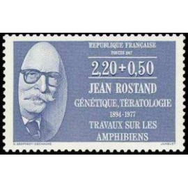 France Yvert Num 2458 ** Jean Rostand  1987