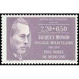 France Yvert Num 2459 ** Jacques Monod  1987