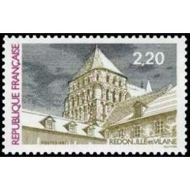 France Yvert Num 2462 ** Redon  1987