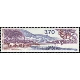 France Yvert Num 2466 ** Cote de Meuse  1987