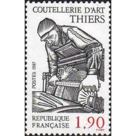 France Yvert Num 2467 ** Couteau  1987