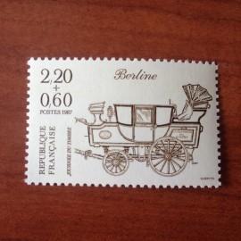 France Yvert Num 2468 ** Journee timbre  1987