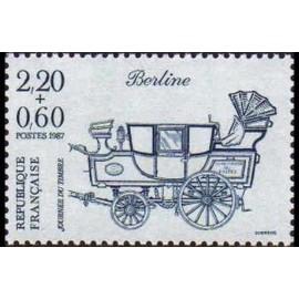 France Yvert Num 2469 ** Journee timbre  1987
