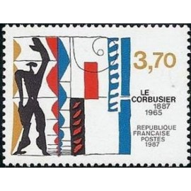 France Yvert Num 2470 ** Le Corbusier  1987
