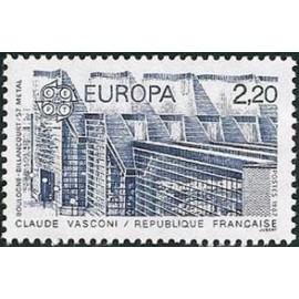 France Yvert Num 2471 ** Europa  1987