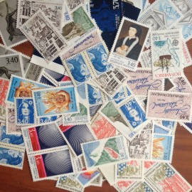 Sous Faciale100 timbres à 3,40francssoit 51,83 euro