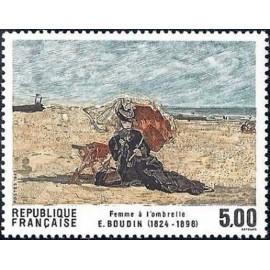 France Yvert Num 2474 ** tableau   1987