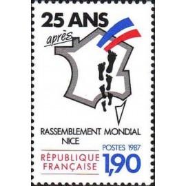 France Yvert Num 2481 **   1987
