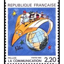 France Yvert Num 2503 ** BD  Pellos 1988